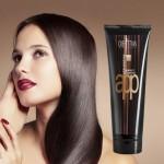 Fluido cremoso lisciante professionale per capelli medi e ricci